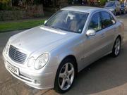 Mercedes-benz 2005 MERCEDES E280 CDI DIESEL AVANTGARDE AUTO MET SILVE