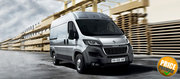 Peugeot Boxer Van on Lease