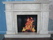 Marble fireplace №1