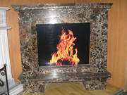 Marble fireplace №3
