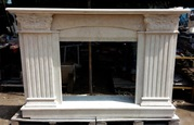 Marble fireplace №2