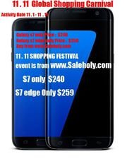 New Samsung Galaxy S7 Edge SM-G935F 32GB GSM Unlocked 12MP White Color