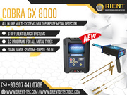 COBRA GX 8000 – Easy Way to Find Golden Treasures